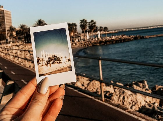 zdjęcie z polaroida