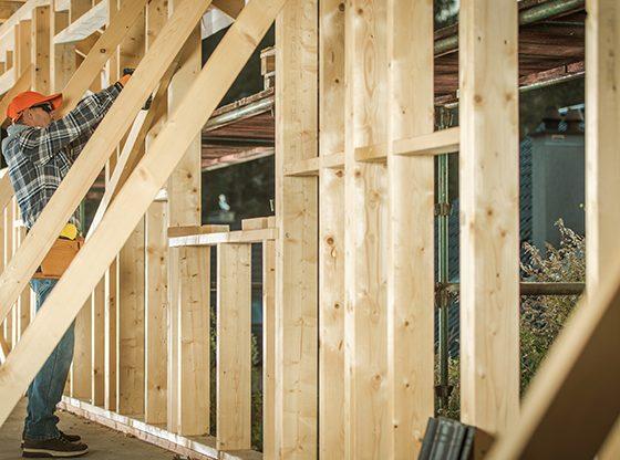 budowa drewnianego domu